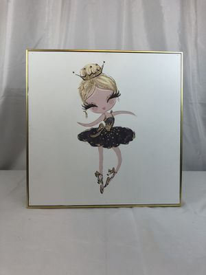 """Ballerina picture (14.3"""" x 14.3"""") for Sale in Tomball, TX"""