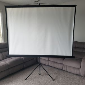 Screen for movies or PowerPoint presentations for Sale in Knoxville, TN
