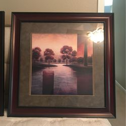 Teo Framed Puctures - Landscape, for Sale in Walnut Creek,  CA