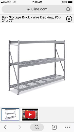 Industrial Metal Shelving for Sale in Pasadena, CA