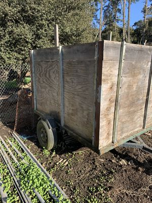 Wooden trailer for Sale in Salinas, CA