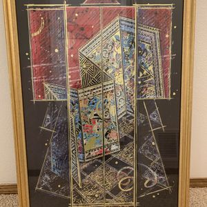 Japanese Kimono Framed Wall Art 40 X 28 for Sale in Vancouver, WA