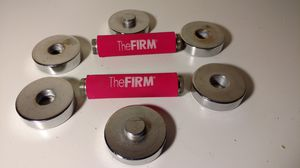 The firm set of 2 adjustable dumbbell weight set for Sale in Columbus, OH