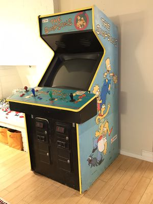 Simpsons Arcade Game Cabinet 1991 original Konami video game for Sale in Universal City, CA