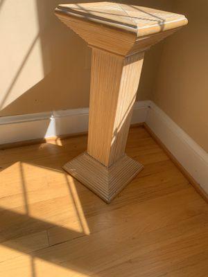 Floor pedestal /Plant stand Roman for Sale in McLean, VA