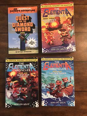 4 Minecraft books for Sale in San Antonio, TX