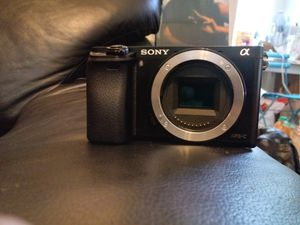 Sony a6000 mirrorless camera body for Sale in Seattle, WA