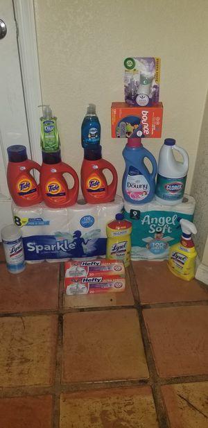 Laundry bundle with Tide liquid detergent for Sale in Phoenix, AZ
