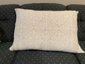 Antique white sham pillow cover for Sale in Seattle, WA