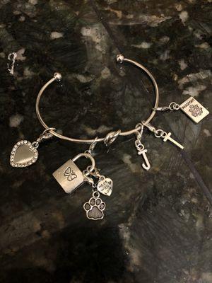 Silver charm bracelet for Sale in Tyler, TX