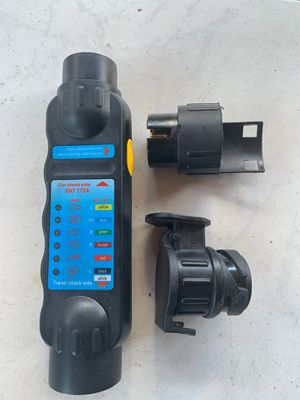 Car Towing Trailer Tester with Adapters for Sale in Covina, CA
