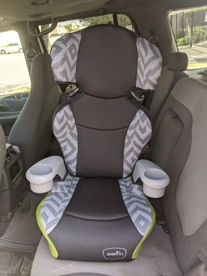 Evenflo booster car seat dual cup holders for Sale in Chula Vista, CA