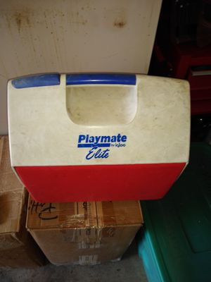 Red playmate cooler for Sale in Oswego, IL