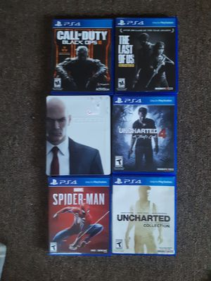 PS4 games for Sale in Bainbridge, NY