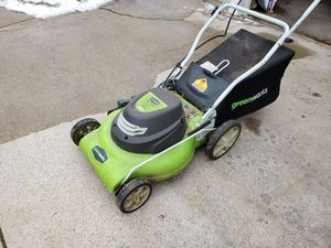 Greenworks Electric Lawn Mower for Sale in Cleveland, OH