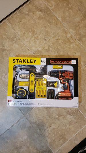 Stanley & Black Decker 66 Pcs Set . for Sale in Detroit, MI