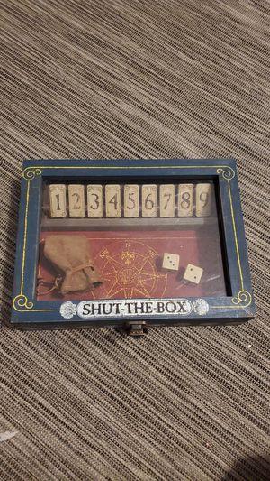 Classic Board Game - Shut the Box for Sale in Los Angeles, CA