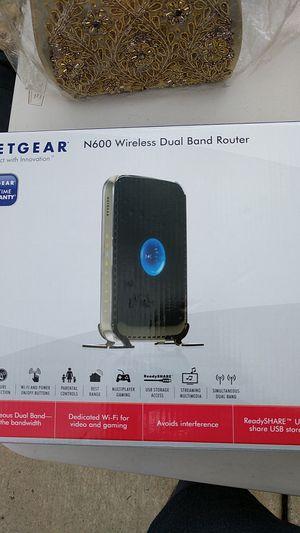 Netgear N600 Wireless Dual Band Router for Sale in Edison, NJ