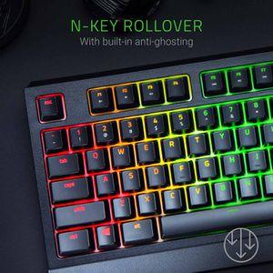 Razer Blackwidow Mechanical Gaming Keyboard BlackCustomizable Chroma RGB Lighting][Green Mechanical Switches - Tactile & Clicky][Anti-Ghosti for Sale in Long Beach, CA