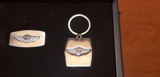 Harley Davidson 100 Year Anniversary Key Chain & Money Clip for Sale in Walton Hills,  OH