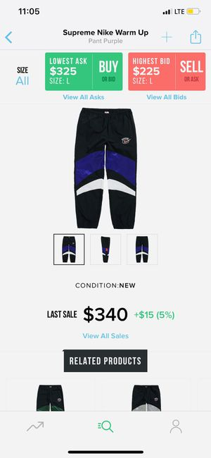Supreme Nike collaboration for Sale in Santa Monica, CA