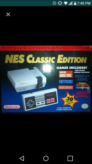 New nes classic edition for Sale in Philadelphia, PA
