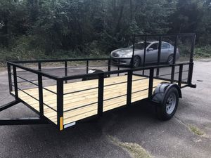 HIGH SIDES UTILITY TRAILER 6x12 BRAND NEW for Sale in Hopkins, SC