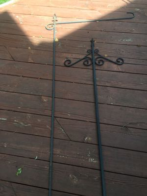 Metal hanging plant posts for Sale in Lake Zurich, IL