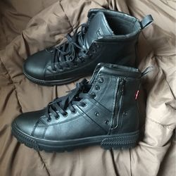 Brand New Levis Black Boots Men Size 9 for Sale in Henderson,  NV
