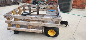 Utility trailer for riding lawn mower for Sale in Pflugerville, TX