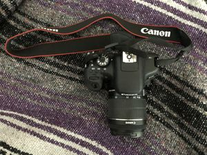 Canon Rebel T6i body with 18-55 mm zoom lens for Sale in Acworth, GA