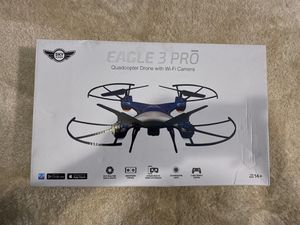 Eagle 3 Pro Quadcopter Drone With WiFi Camera for Sale in Indianapolis, IN