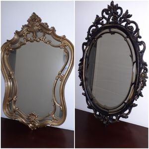 vintage floral oval mirror for Sale in Vancouver, WA