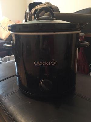 Black, 4qt crockpot for Sale in Nashville, TN