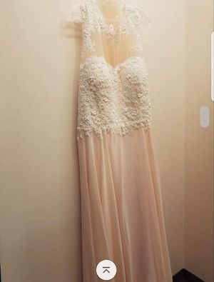 Plus size wedding/ prom dress for Sale in Taunton, MA