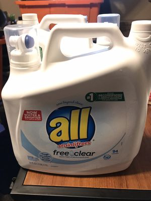 All detergent 94 loads for Sale in Fontana, CA