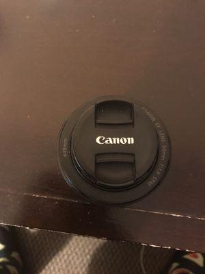 Canon 50mm lens for Sale in Laurel, MD