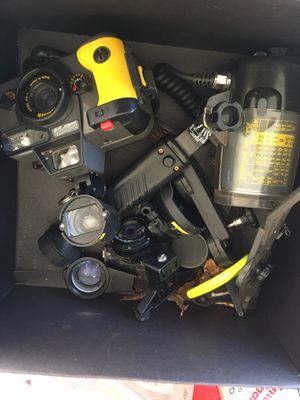 under water camera & lenses for Sale in Sacramento, CA