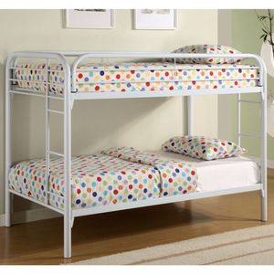 Brand new twin over twin bunk bed frame no mattress for Sale in Miami, FL
