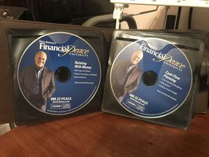 Dave Ramsey - financial peace university DVDs for Sale in Raleigh, NC