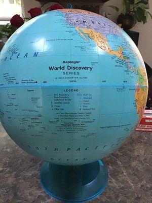 Teacher's world discovery series globe. for Sale in Lorton, VA
