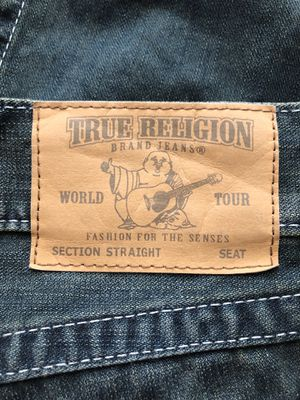 Mens sz 33 Straight Leg True Religion jeans for Sale in Berkley, MA