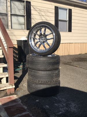 Rims and tires 5 lug for Sale in Alexandria, VA