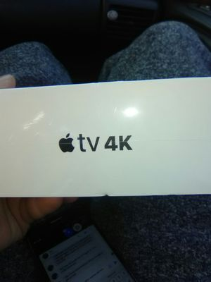 "64gb Apple TV 4k ""I don't mind delivering"" for Sale in Fridley, MN"