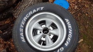 Cragar Wheels with tires for Sale in Groesbeck, OH