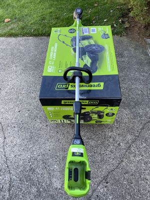 Brand new greenworks 60v mower And Weed Eater for Sale in Newark, OH