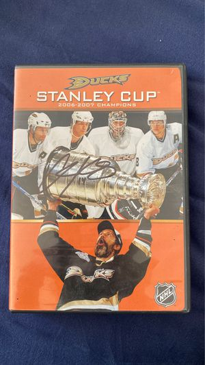 Anaheim Ducks 2007 Stanley Cup DVD for Sale in Philadelphia, PA