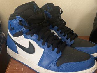 Jordan 1s Retro High Cool Grey Blue Soar Size 11.5 for Sale in Corona,  CA