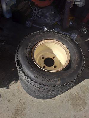 Two golf cart tires for Sale in Moreno Valley, CA
