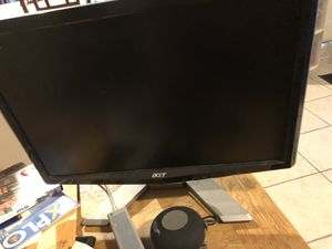 Acer computer monitor for Sale in Riverside, CA
